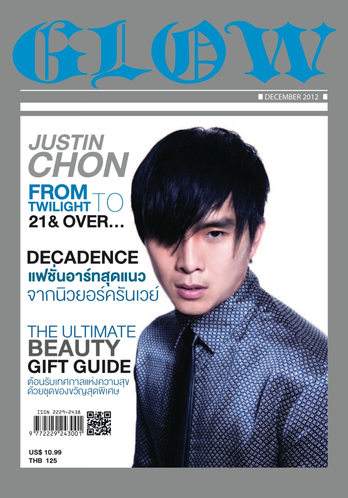 Justin Chon COVER