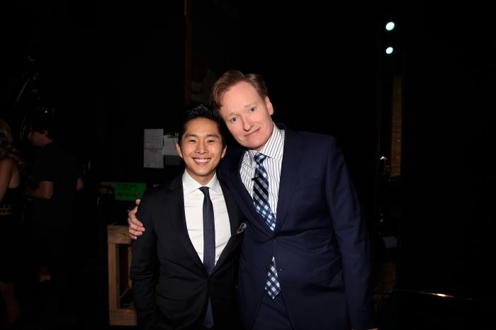 Justin Chon + Conan